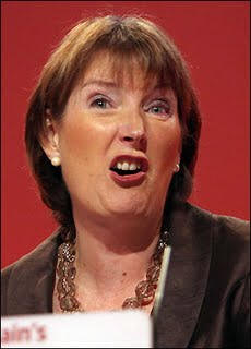 Harriet Harman sneering