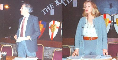 Peter Rushton - Michele Lady Renouf