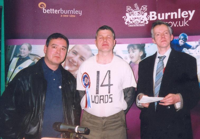 from left to right, Mark Cotterill, Steven Smith, Peter Rushton