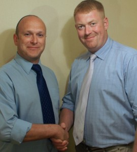 Eddy Butler's campaign team has been joined by former Yorkshire organiser Nick Cass