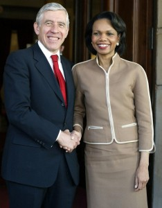 Architects of War - Jack Straw and Condoleeza Rice