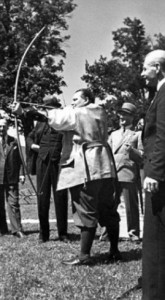 British Legion delegates with Hermann Göring