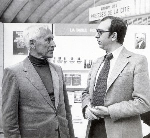 Two inspirational New Right figures who influenced Guillaume Faye: Ernst Jünger (left) and Alain de Benoist