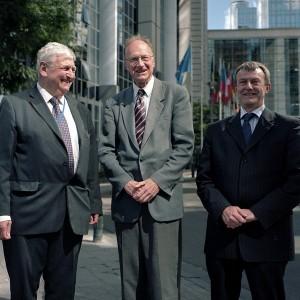Andrew Brons, Richard Edmonds and Ken Booth