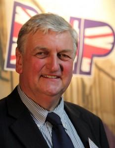 Andrew Brons MEP addressed the Unity Meeting in Bradford