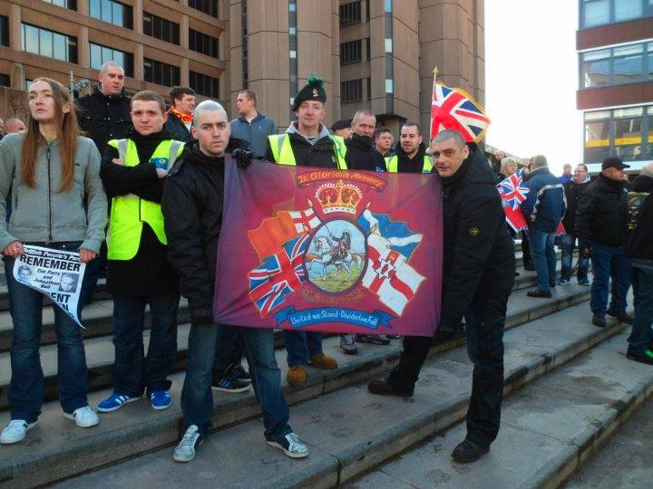 anti-IRA demo