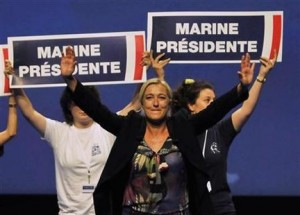 Marine Le Pen is likely to poll around 15% in this year's French presidential election, but is very unlikely to qualify for the second round run-off