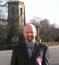 Ian Sutton, ex-BNP, now ED organiser in Barnsley