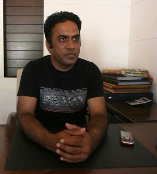 """Immigration adviser"" Faisal Mehmood has seen a rush of wedding applications in Mirpur, Pakistan, during the last month"