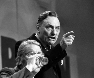 Enoch Powell was sacked from the Conservative shadow cabinet in 1968 for warning against britain's racial transformation. Margaret Thatcher refused to back him and kept her job.