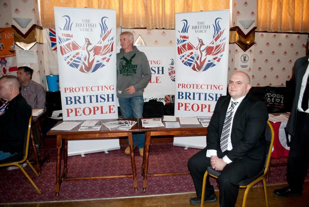 British Voice stall