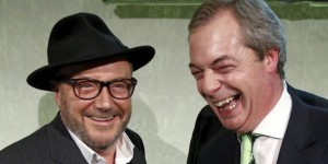 Unlikely allies for Brexit: George Galloway and Nigel Farage