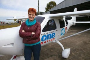 Pauline Hanson - leader of One Nation - is attempting an electoral comeback to the Australian Senate