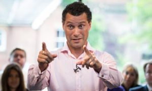 Steven Woolfe - again favourite to win the new UKIP leadership contest