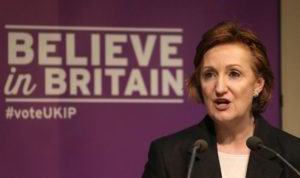 Suzanne Evans, leading enemy of Farage and likely leadership candidate for UKIP's most liberal faction