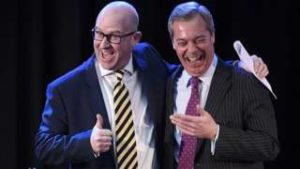 Paul Nuttall (left) has succeeded Nigel Farage as UKIP leader following a period of internal turmoil. He claims that UKIP will serious challenge Labour in Northern England.