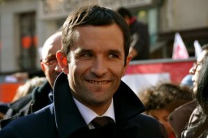Benoît Hamon – Socialist candidate – will reach the second round only if he can unite the far left