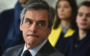 Conservative presidential candidate François Fillon: once favourite, now his campaign is in crisis