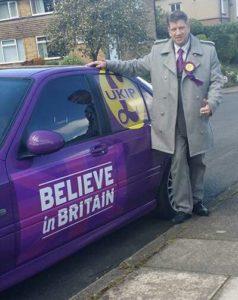 Rotherham UKIP Steve Webster