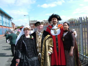 Will former mayor Afzal Khan – seen here at a St George's Day event in 2006 – be able to rely on backing from ethnic rivals in his bid to be Gorton MP?