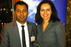 Cllr Luthfur Rahman crowned 'Community Champion of the Year' by Labour MP Caroline Flint