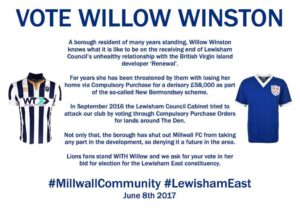Millwall - Willow Winston