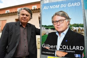One of the FN's two Assembly winners in 2012 – Gilbert Collard – is likely to lose his seat in the Gard region of the far south (part of the area once known as Languedoc).